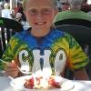 Strawberry pancake smile